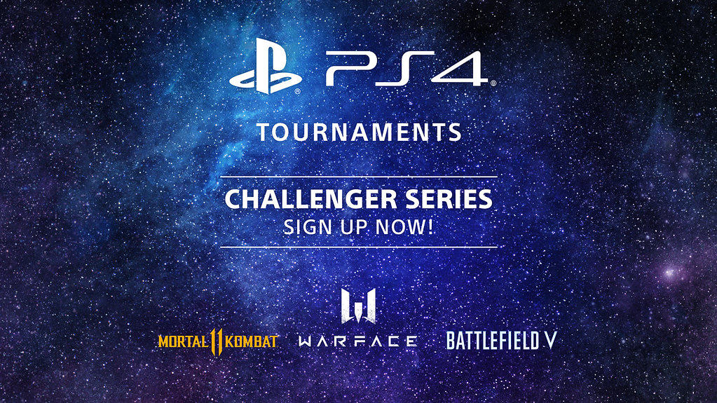 PS4 Tournaments-Challenger Series announced