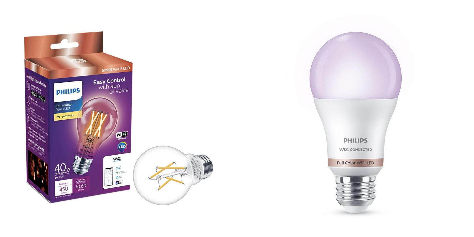 Philips' WiZ smart bulb platform offers Wi-Fi control from $10