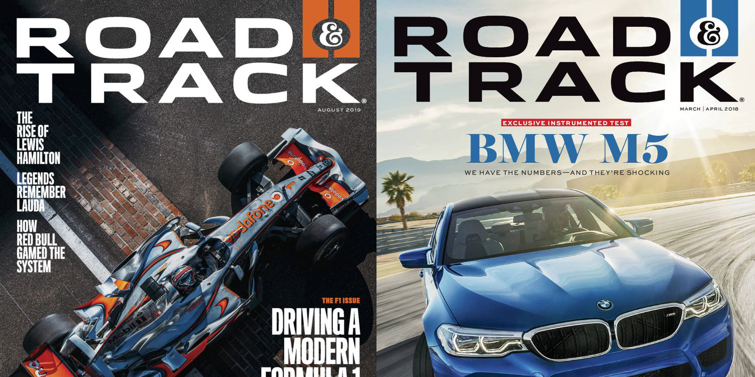 Grab four years of Road & Track Magazine for the price of one, now just $12