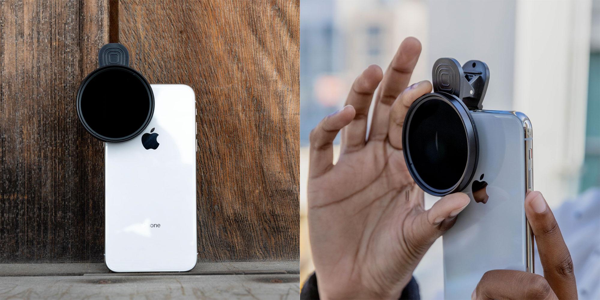 sandmarc polarized nd filter iphone
