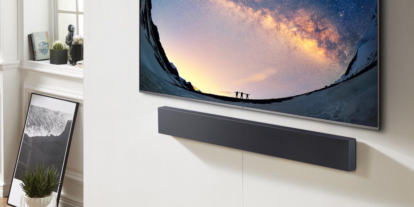 Samsung's $200 SmartThings-enabled Sound+ Slim Soundbar is