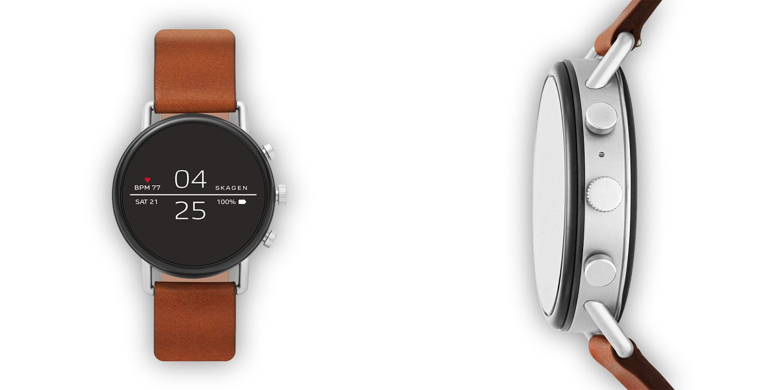 Skagen Falster 2 Smartwatch has Wear OS, Google Pay, more: $199 (Save $95+)