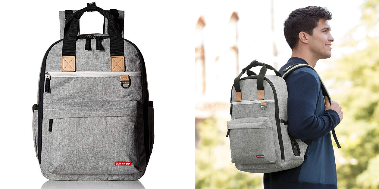 Skip Hop Diaper Bag Backpack with changing pad for $46 shipped (Reg. $65)