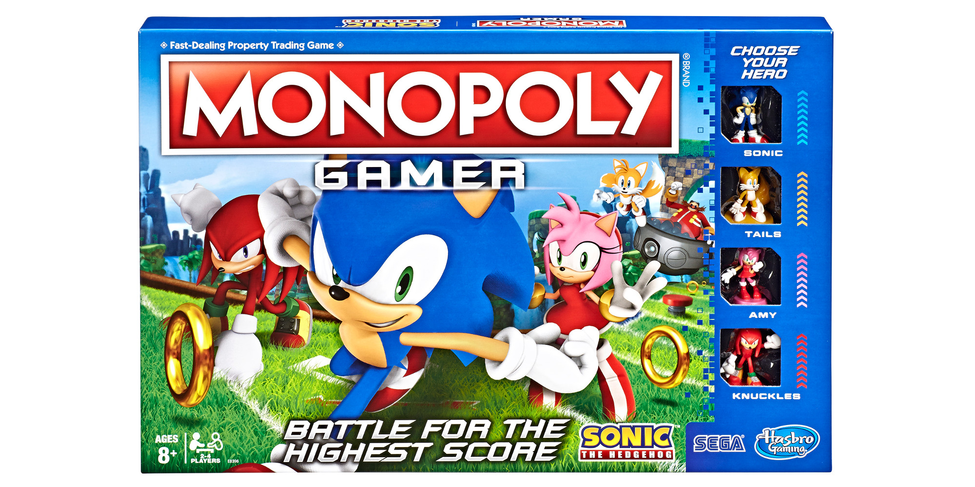 Sonic The Hedgehog Monopoly Has Arrived 9to5toys