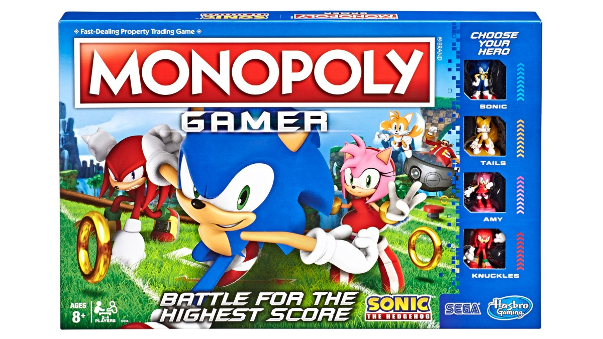 Sonic the Hedgehog Monopoly is here!