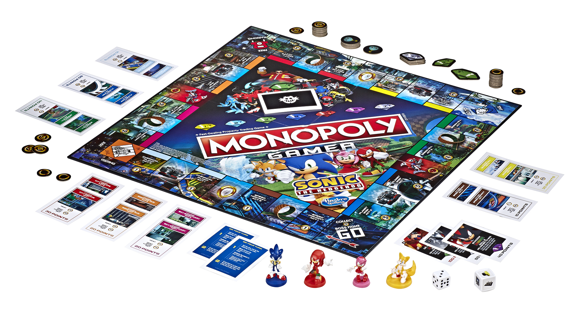 Sonic the Hedgehog Monopoly unveiled