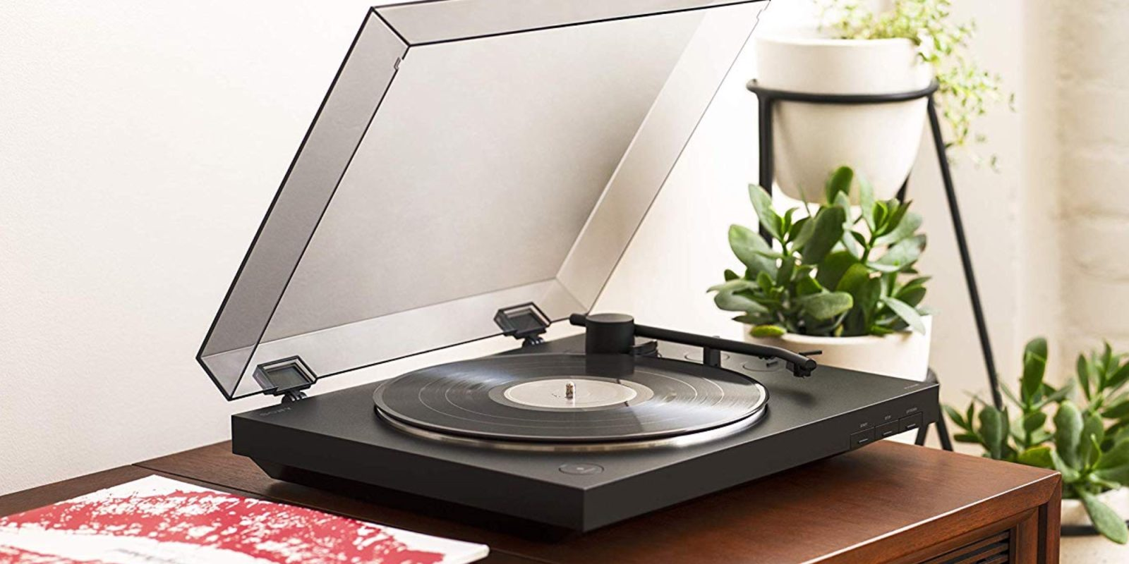 Kick it old school with 26% off Sony's Belt Drive Bluetooth Turntable at $148