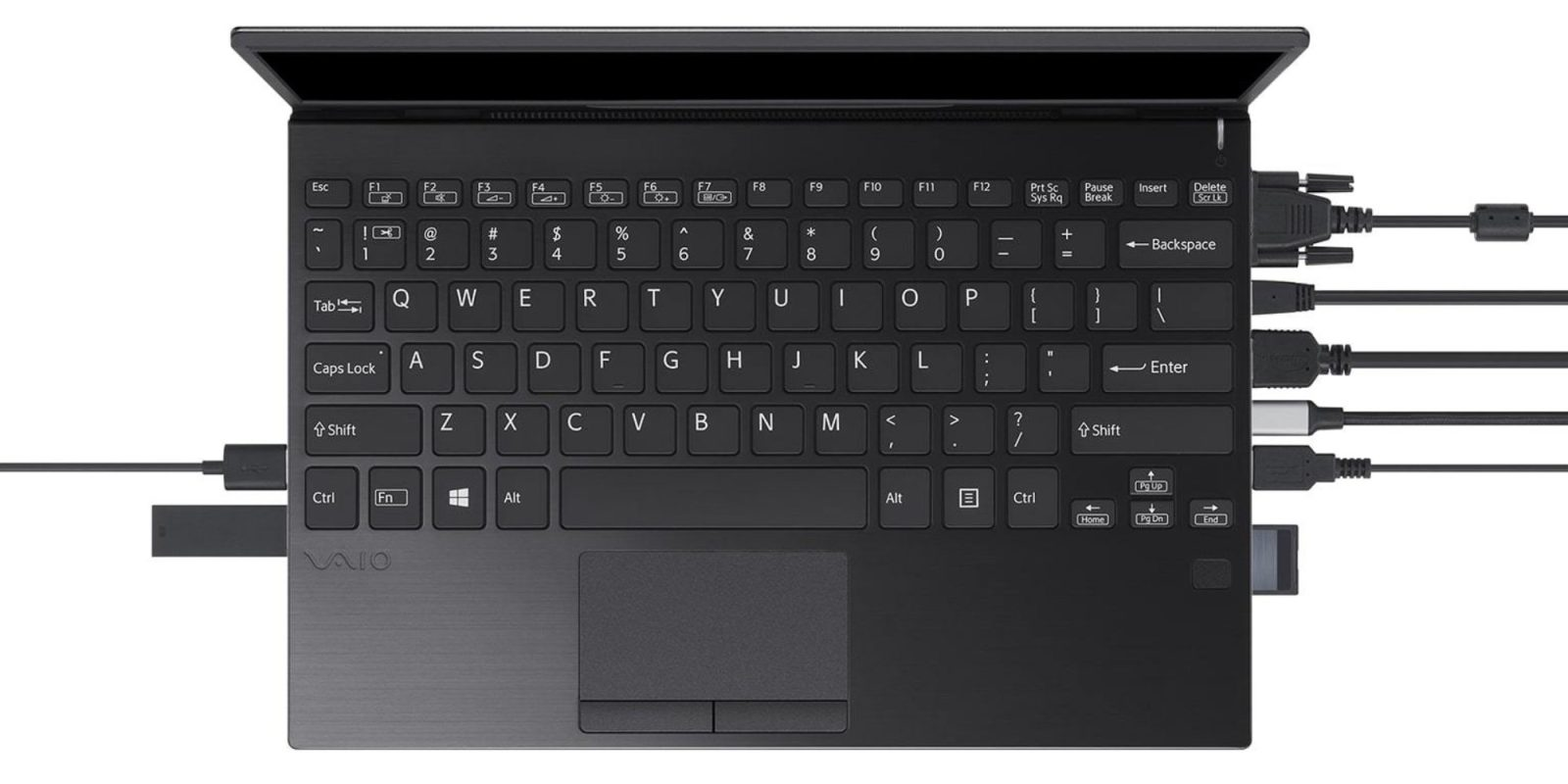 New Sony VAIO confirms laptops shouldn't require dongles