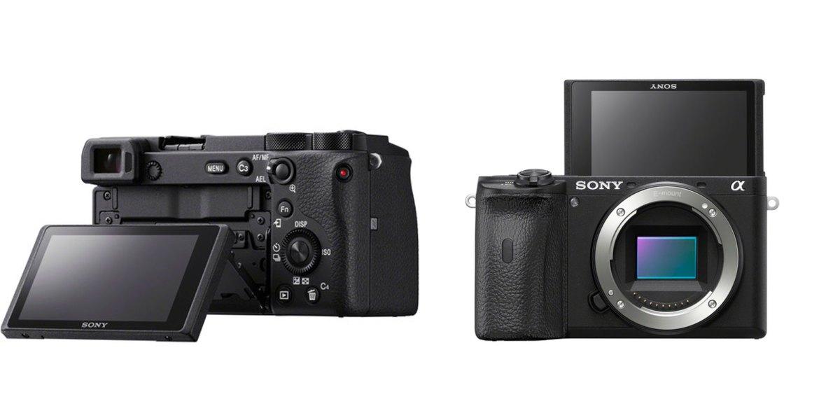 Sony a6600 a6100 mirrorless cameras