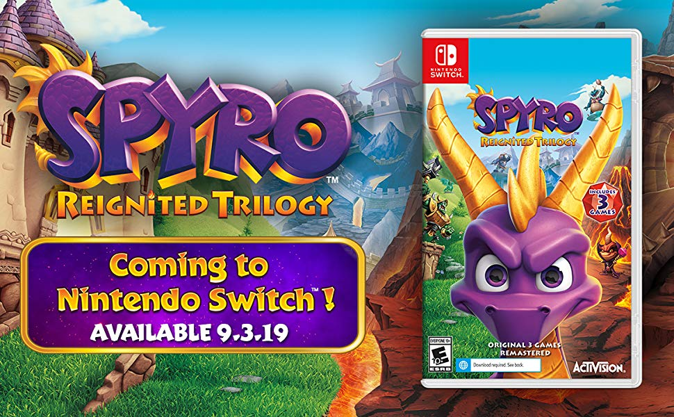Spyro Trilogy for Switch