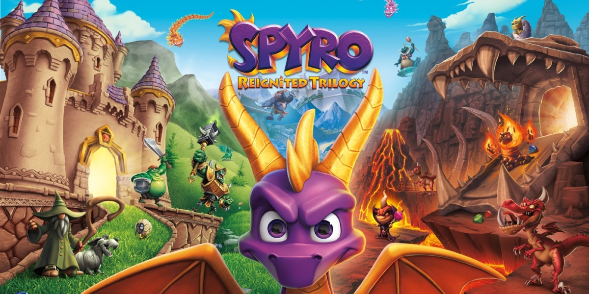 Spyro Trilogy for Switch and PC hit next week