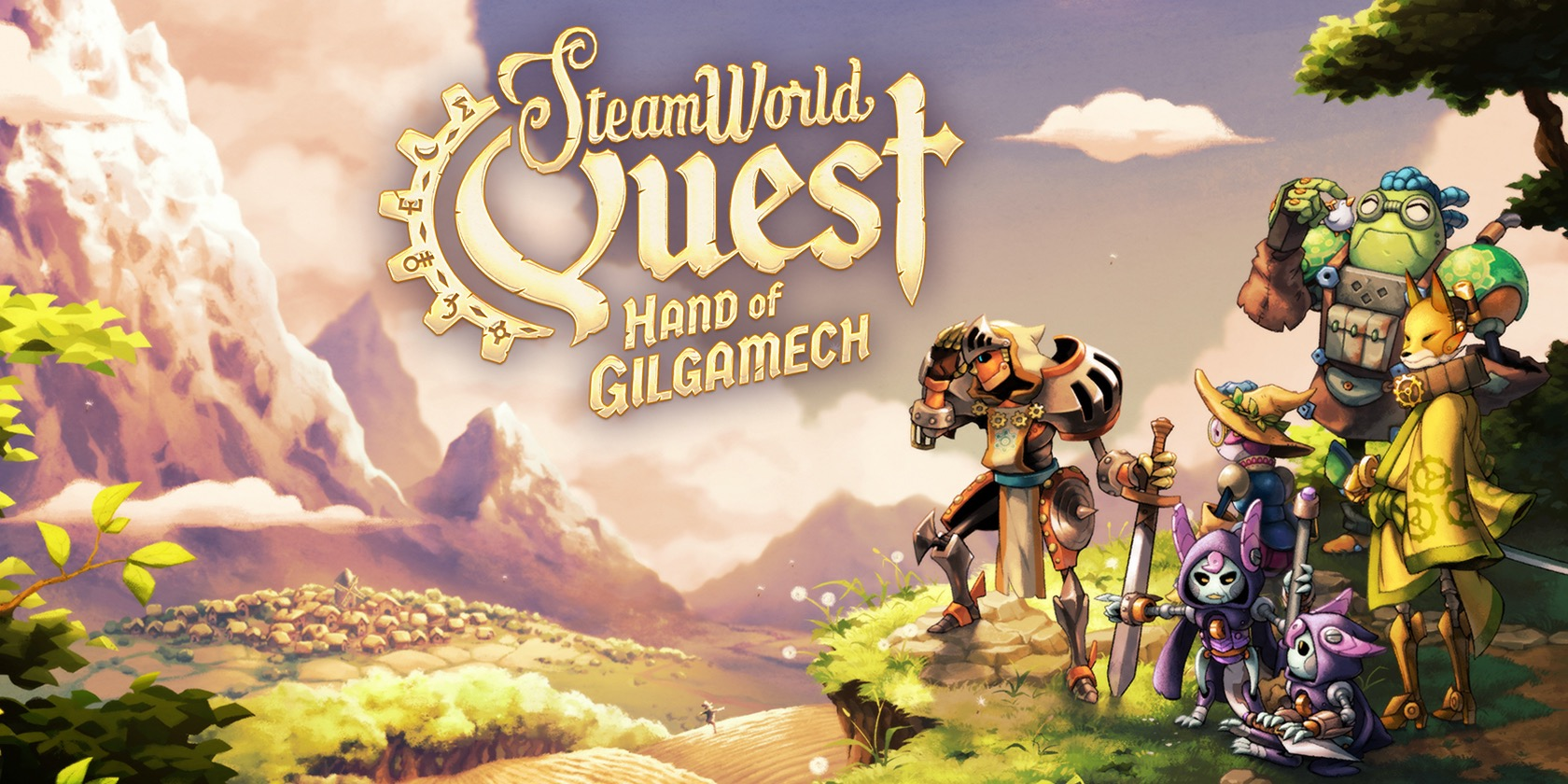 Switch eShop sale from $1: SteamWorld Quest, Brothers, Wonder Boy