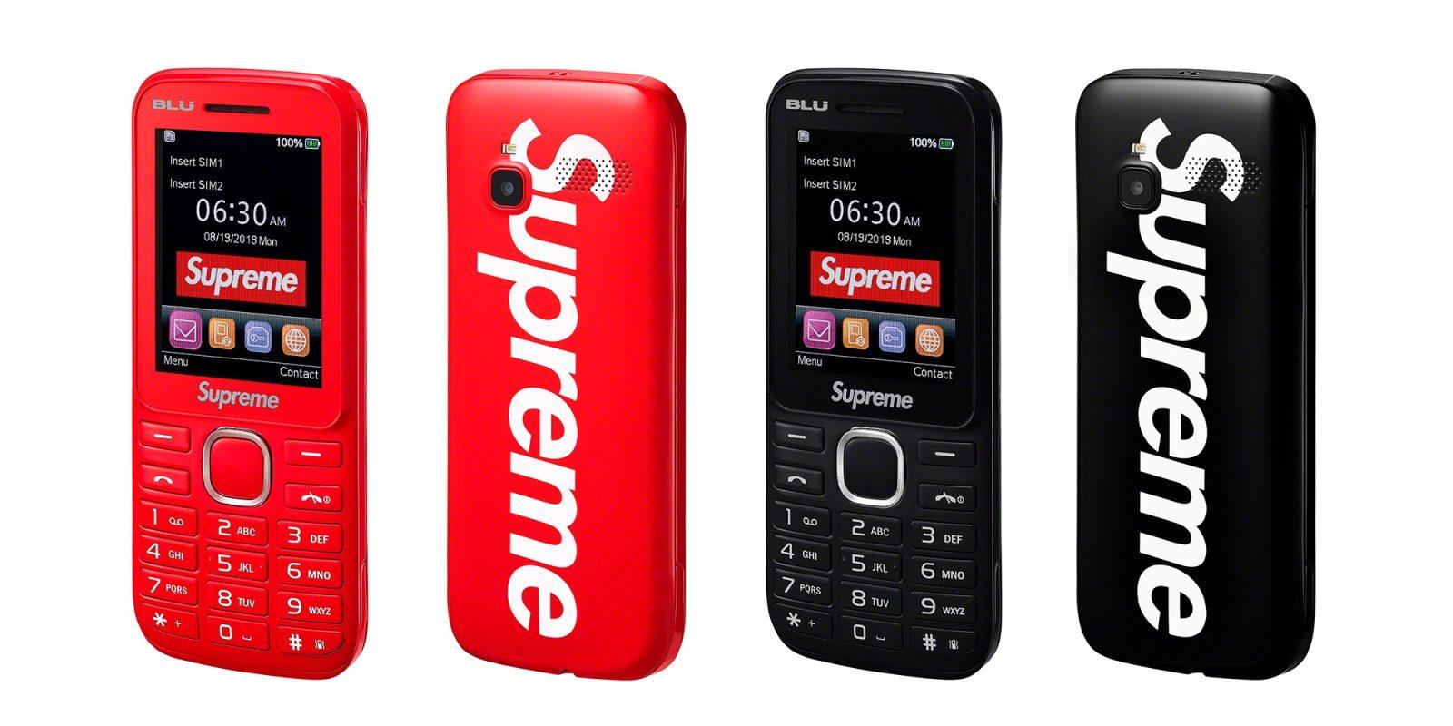 Supreme's fall catalog lets streetwear fans buy a branded burner phone, more
