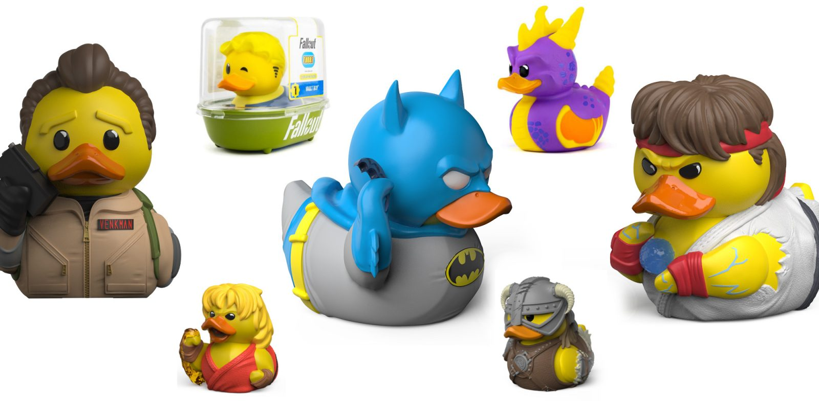 New TUBBZ collectibles transform your favorite characters into rubber ducks