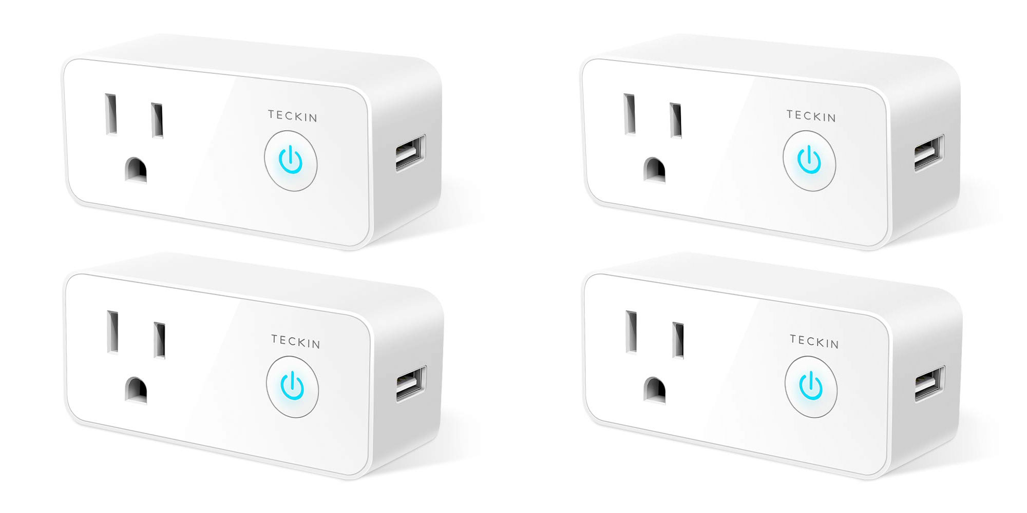 This smart plug packs a 2 1A USB port, works with Alexa