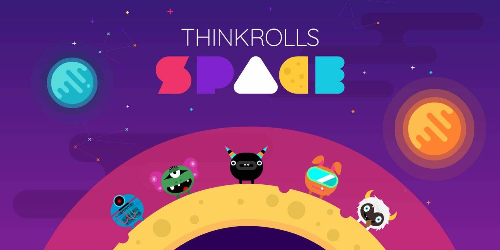 Thinkrolls Space has hundreds of family-friendly iOS puzzles: $1 (Reg. $4)
