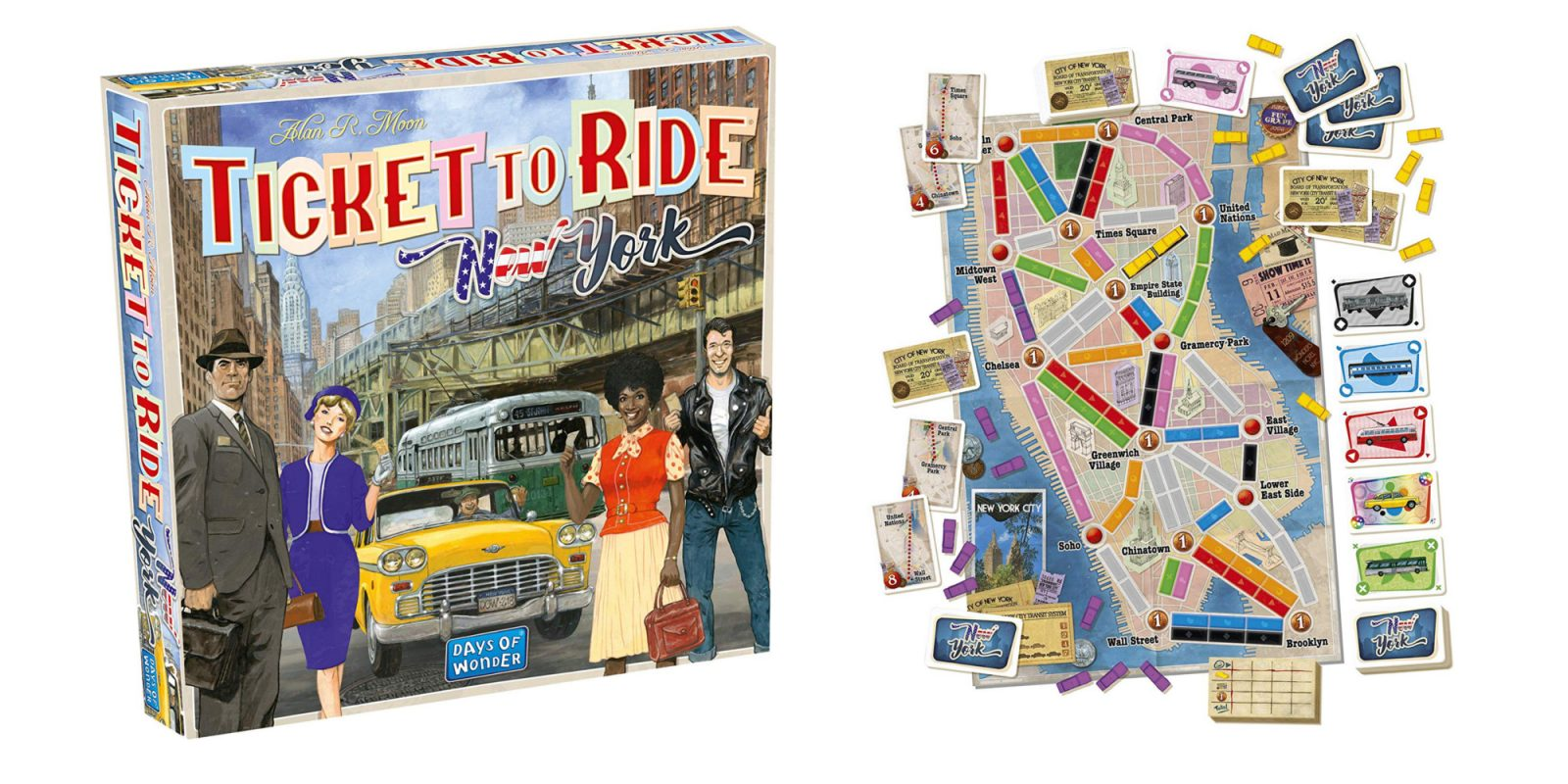 Board game deals from $6: Ticket to Ride, Monopoly, Candy Land, more