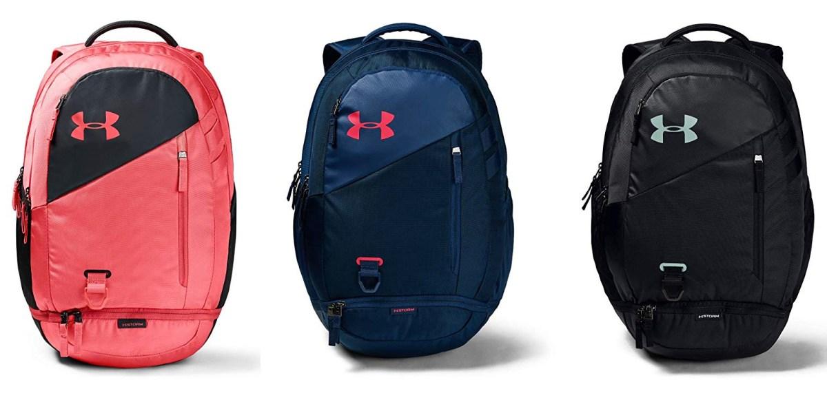 Lidiar con Perforación Cantidad de dinero  Amazon has the Under Armour Hustle 4.0 Backpack for $41 shipped (Reg. $55)  - 9to5Toys