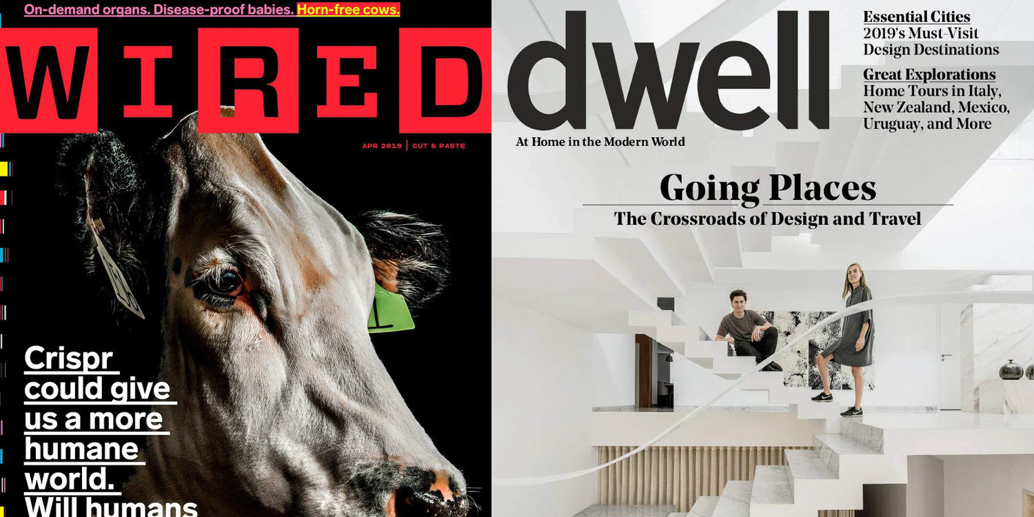Magazine subs from $5/yr.: Wired, Dwell, Arch Digest, Men's Health, more