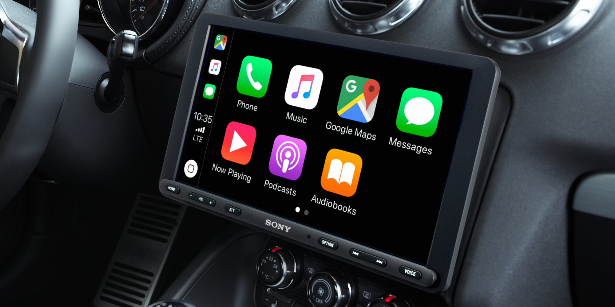 Sony debuts massive 9-inch CarPlay + Android Auto Receiver w/ modest price tag