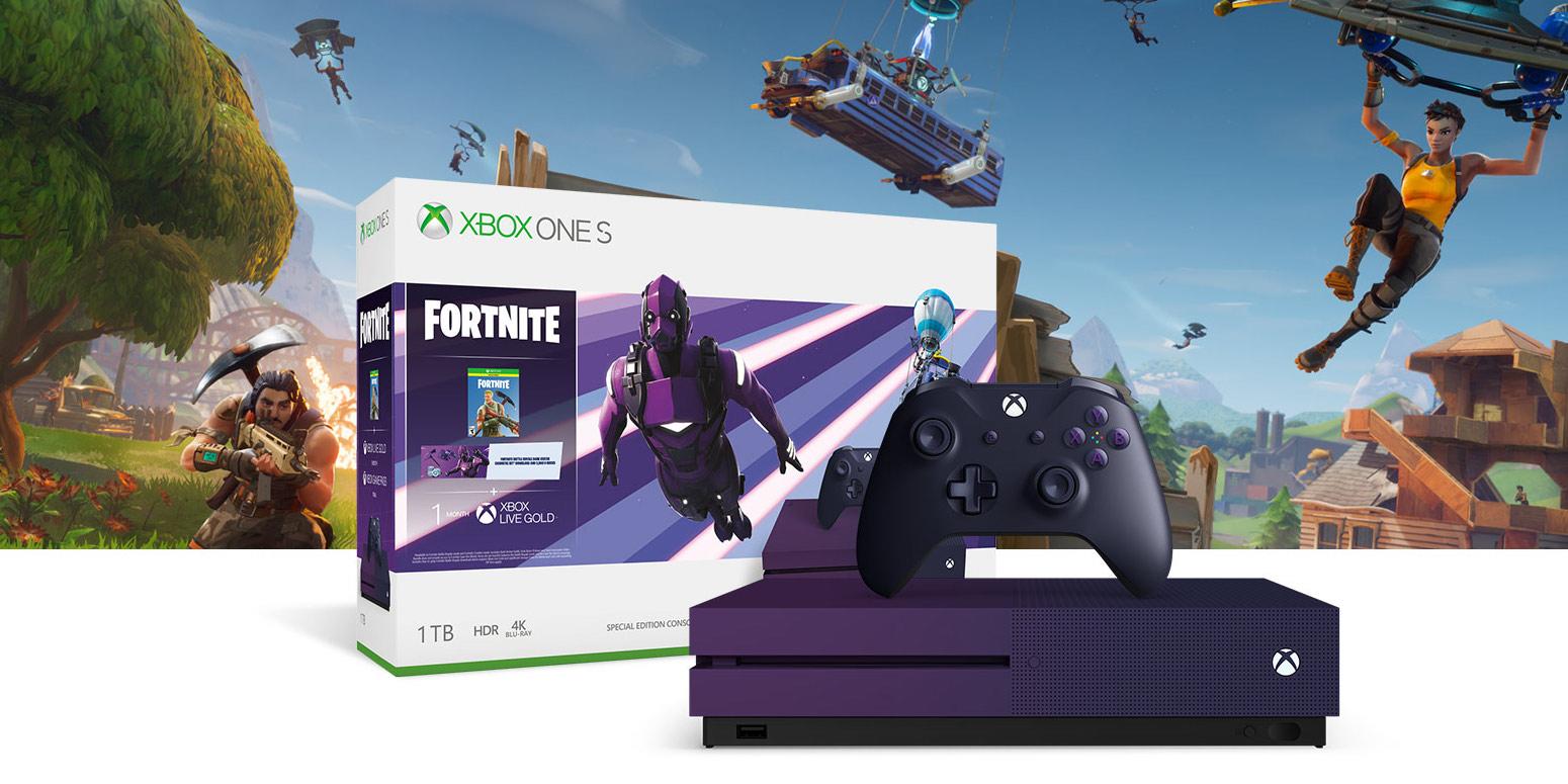 Xbox One S 1tb Fortnite Bundle Cod Modern Warfare Now