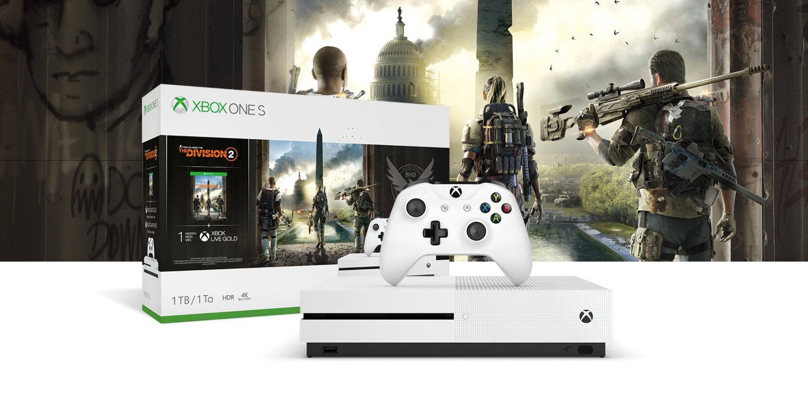 Xbox One bundles up to $120 off: Division 2, Madden NFL 20, more from $172
