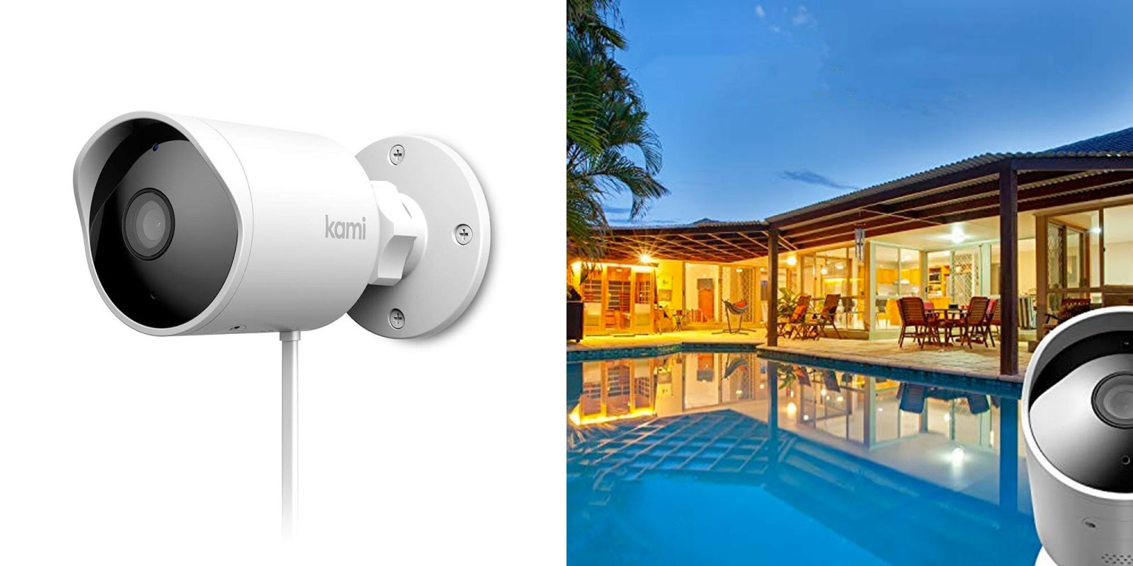 YI's Kami Outdoor Security Camera packs full color night vision + more at $100