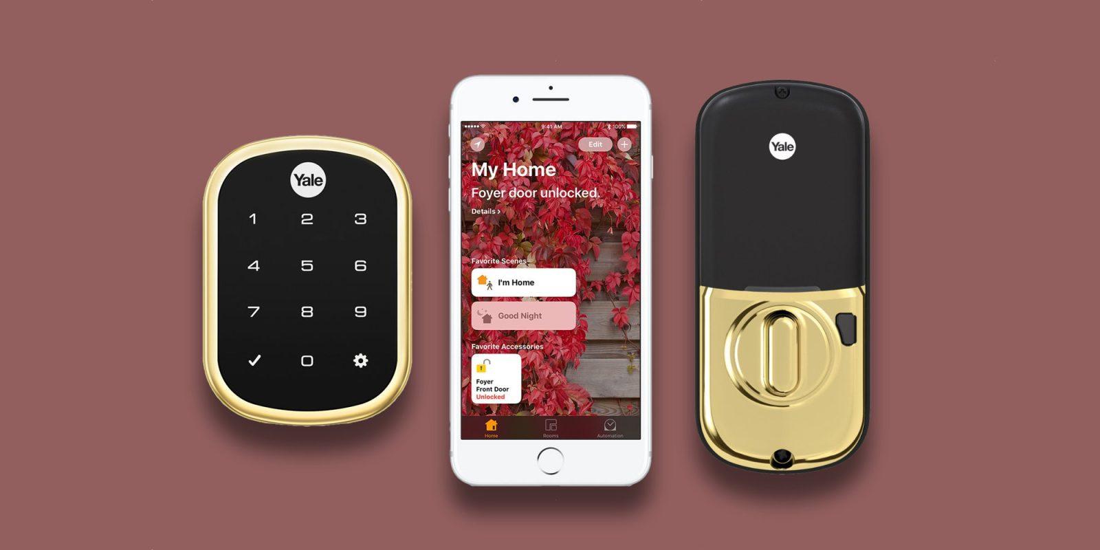 Arm the front door w/ HomeKit using Yale's Assure Smart Lock: $151 (Save $70+)