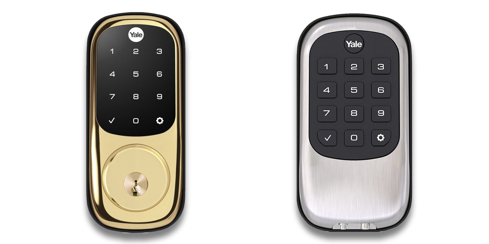 Equip the door with a Yale Z-Wave Smart Lock for as low as $78 (Save 20%)
