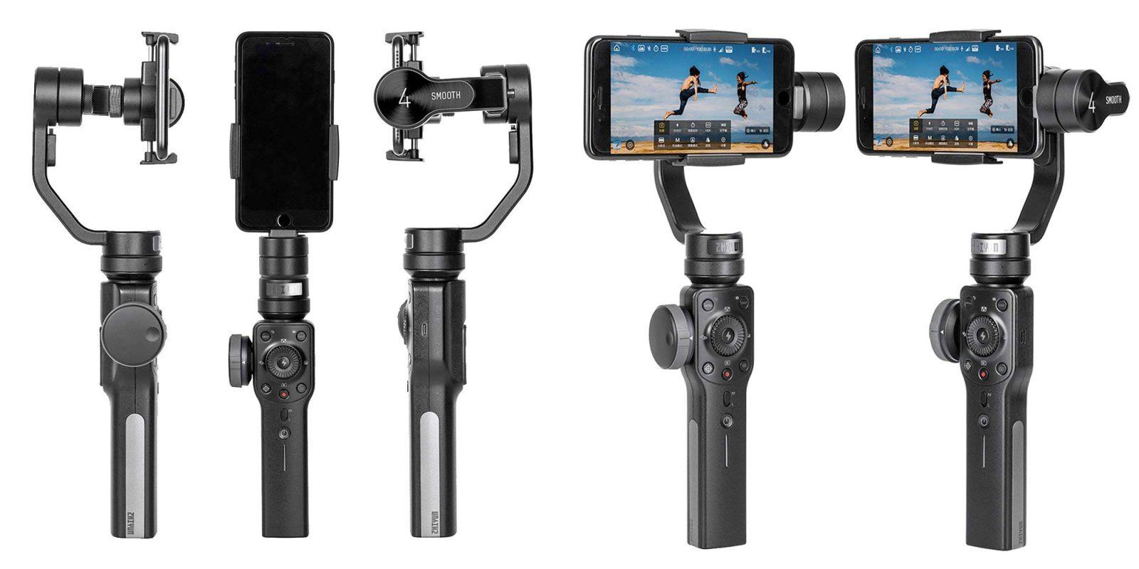 The Zhiyun Smooth 4 Smartphone Gimbal captures stunning video: $95 (Reg. $119)