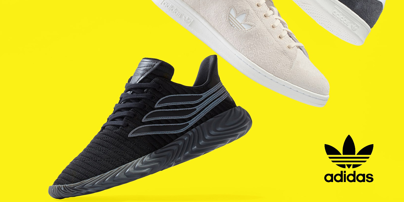 adidas shoes and apparel for the enitre family from $18 at Nordstrom Rack