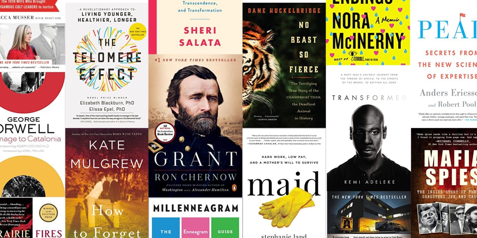 Expand your Kindle library with a batch of nonfiction eBooks on sale from $1