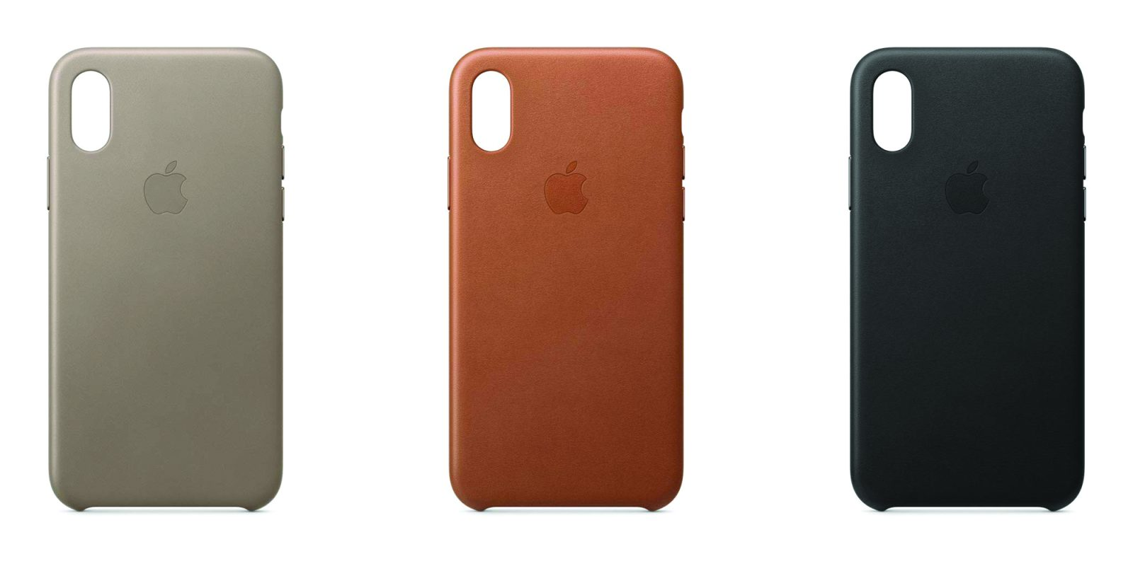Official Apple leather iPhone XS cases on sale from $25 (Reg. $49)