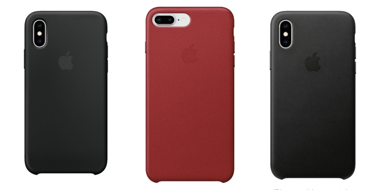 Apple's Silicone iPhone XS/Max Case drops to $20, Leather $25, more from $17