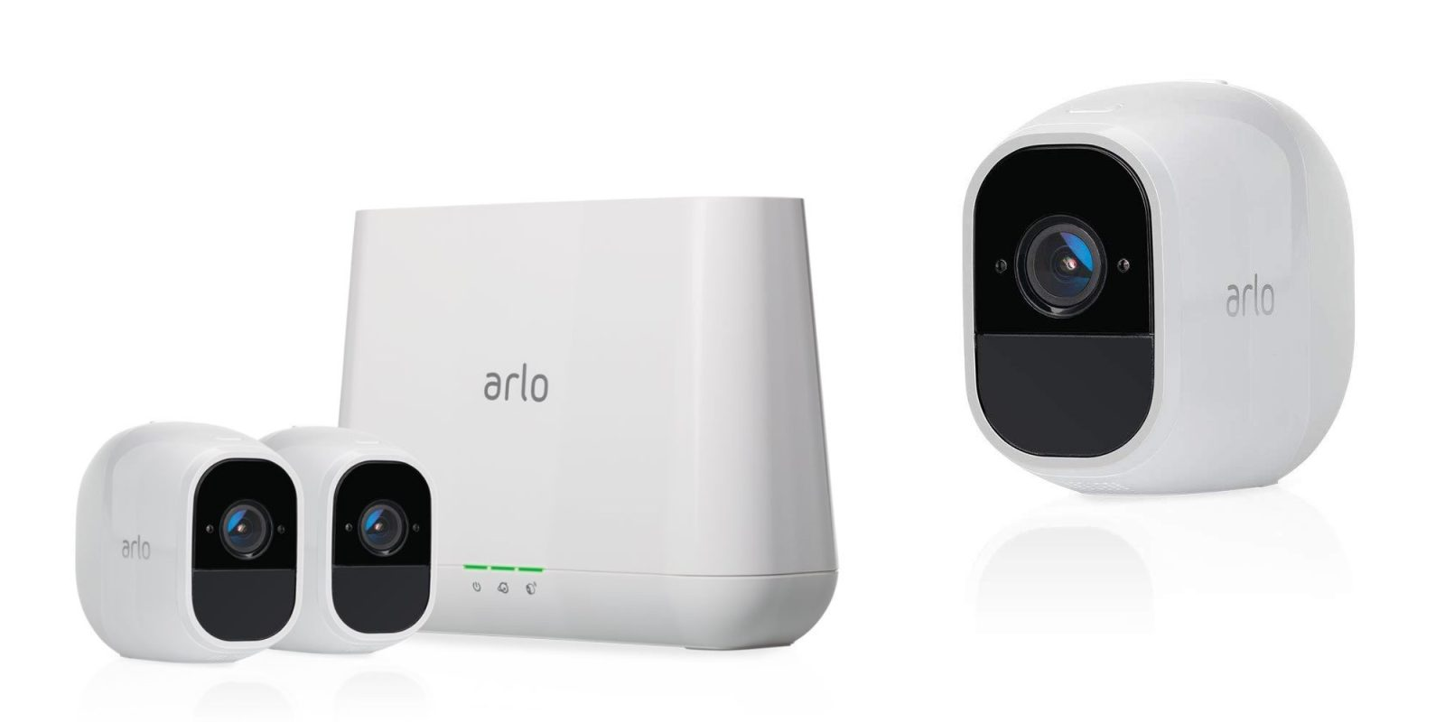 Save on refurbished Arlo Pro 2 HomeKit-compatible camera systems from $120