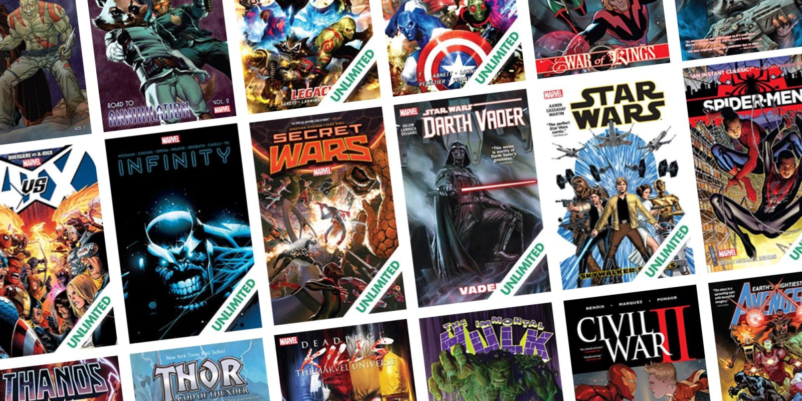 ComiXology takes up to 88% off modern Marvel classics and more from under $1