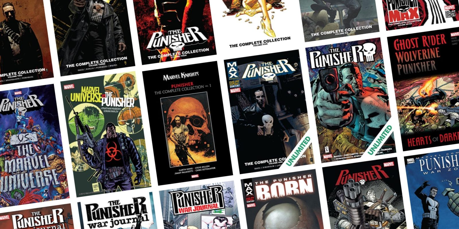 Expand your digital library with up to 67% off Marvel Punisher comics from $1