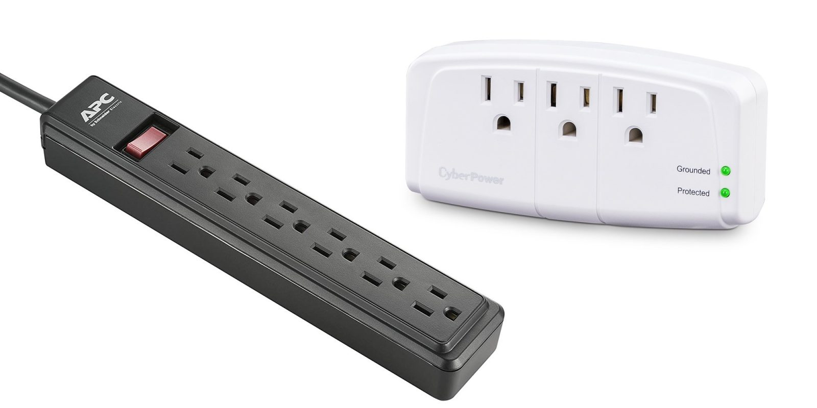 Just $6.50 gets you CyberPower's Essential 900J Surge Protector Wall Tap, more