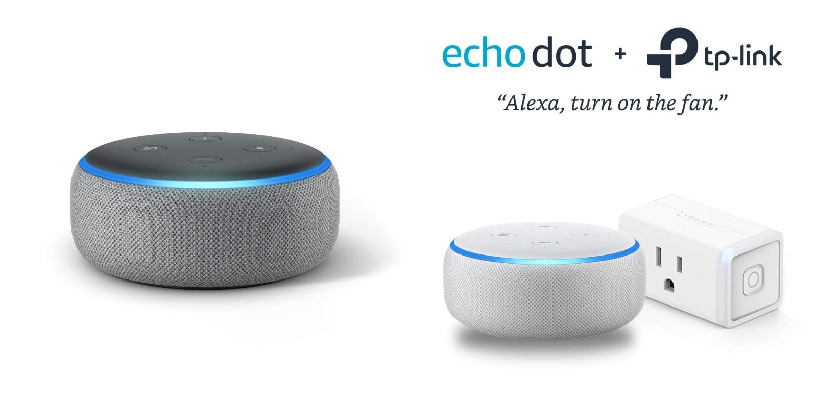 Echo Dot drops to $25, add a TP-Link smart plug for just $5 more