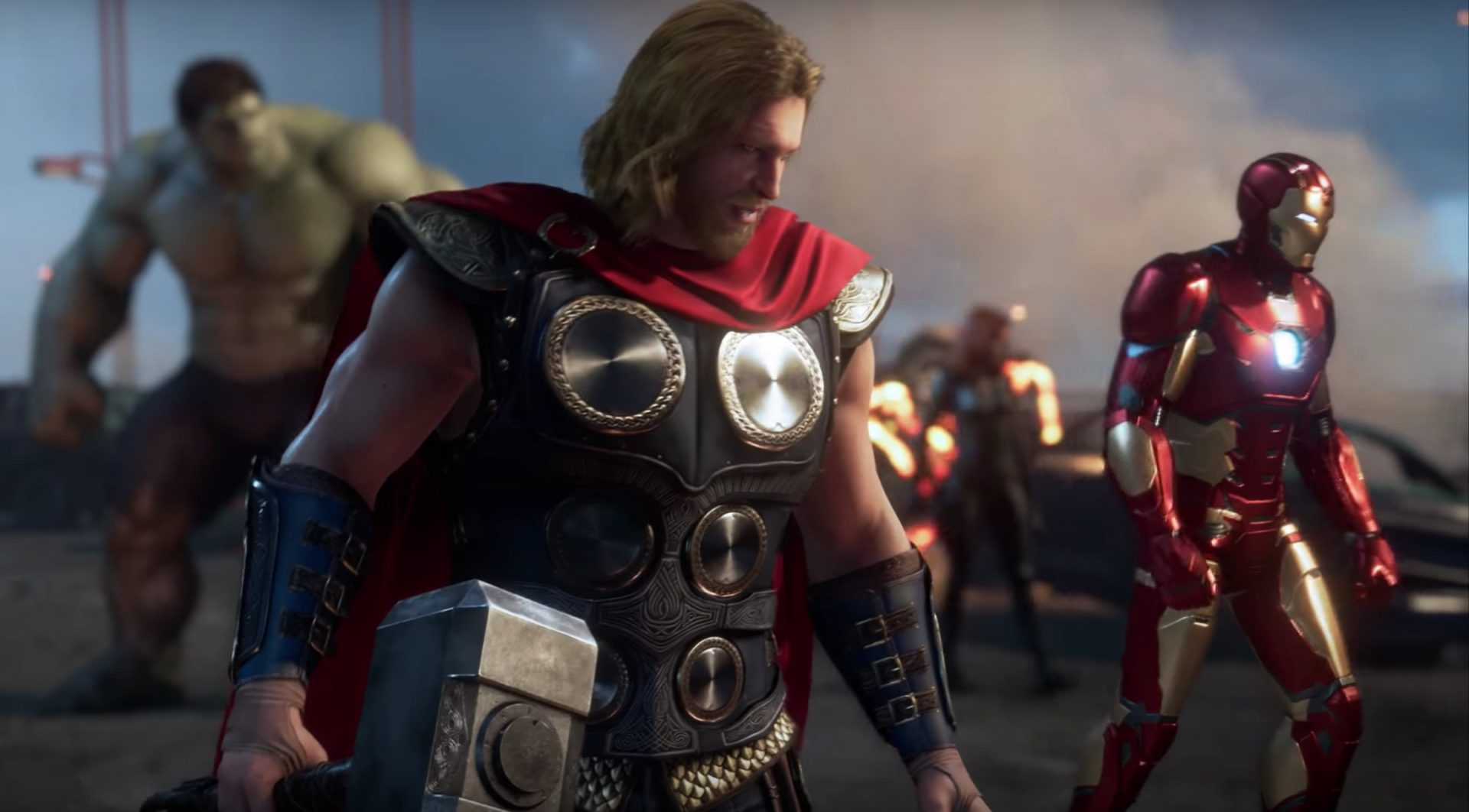 Marvel's Avengers gameplay footage now available