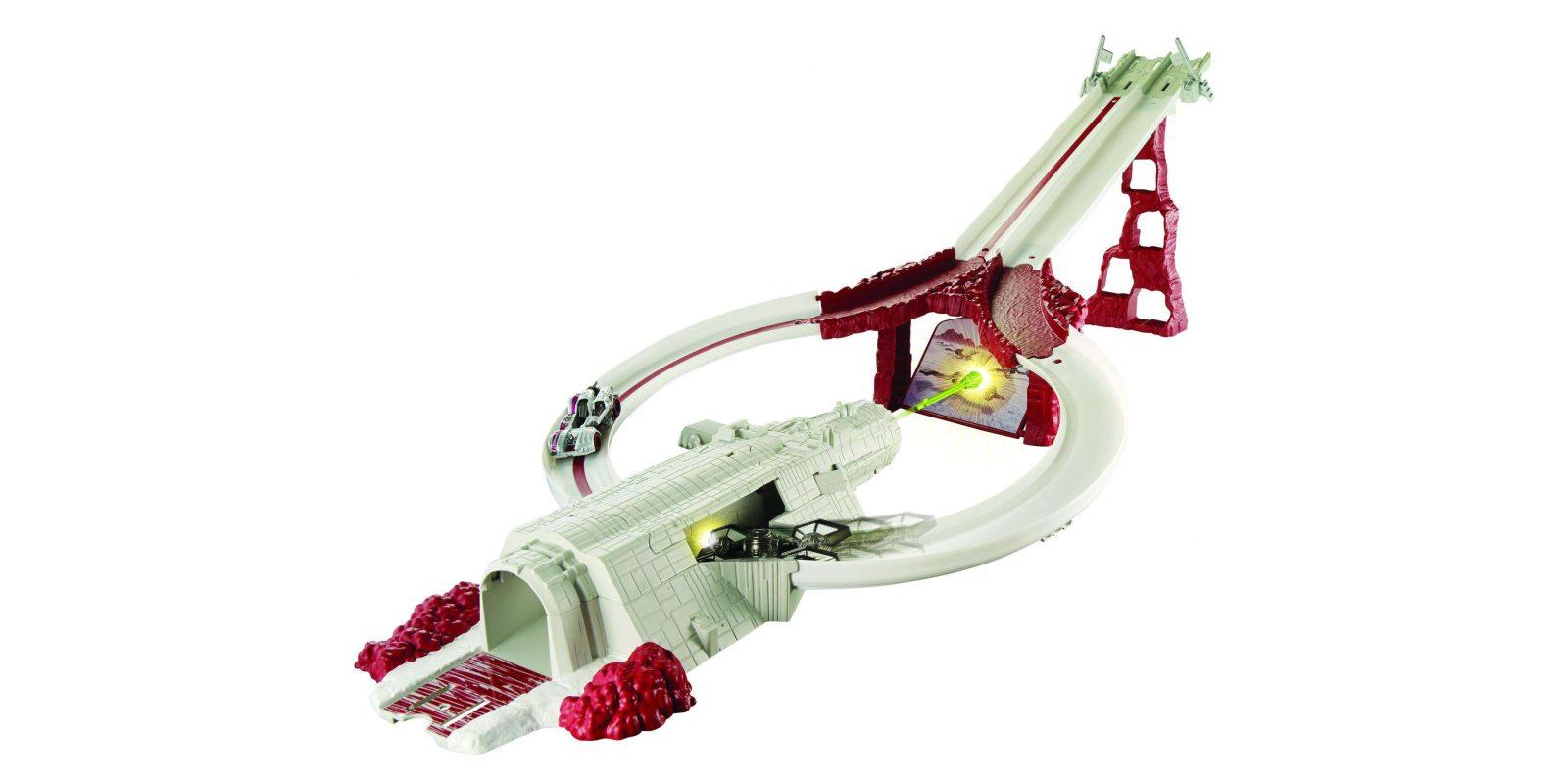 Hot Wheels Star Wars: The Last Jedi Crait Assault Raceway is now just $16