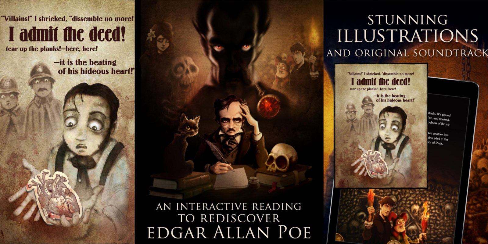Interactive iOS book apps for $1: Poe, Sherlock Holmes, more (Reg. $4)