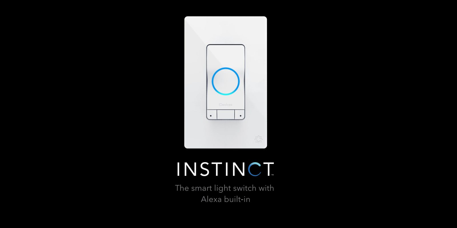 iDevices finally ships its Instinct smart wall switch with built-in Alexa