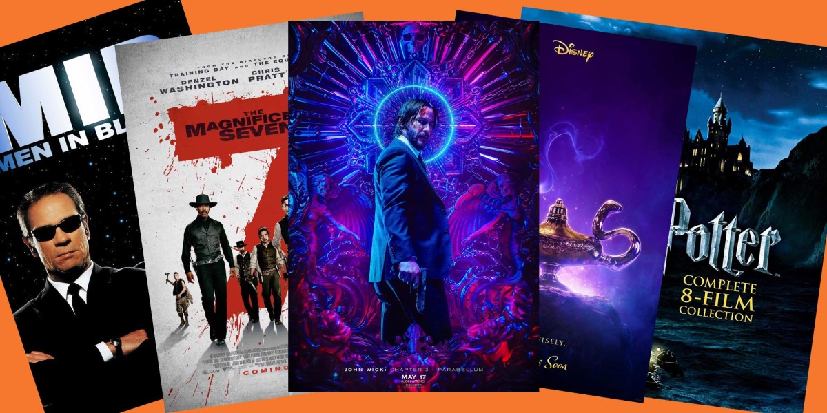 Apple Labor Day movie posters