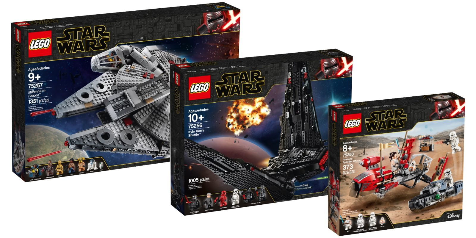 Lego Rise Of Skywalker Kits Bring Eight New Star Wars Builds 9to5toys