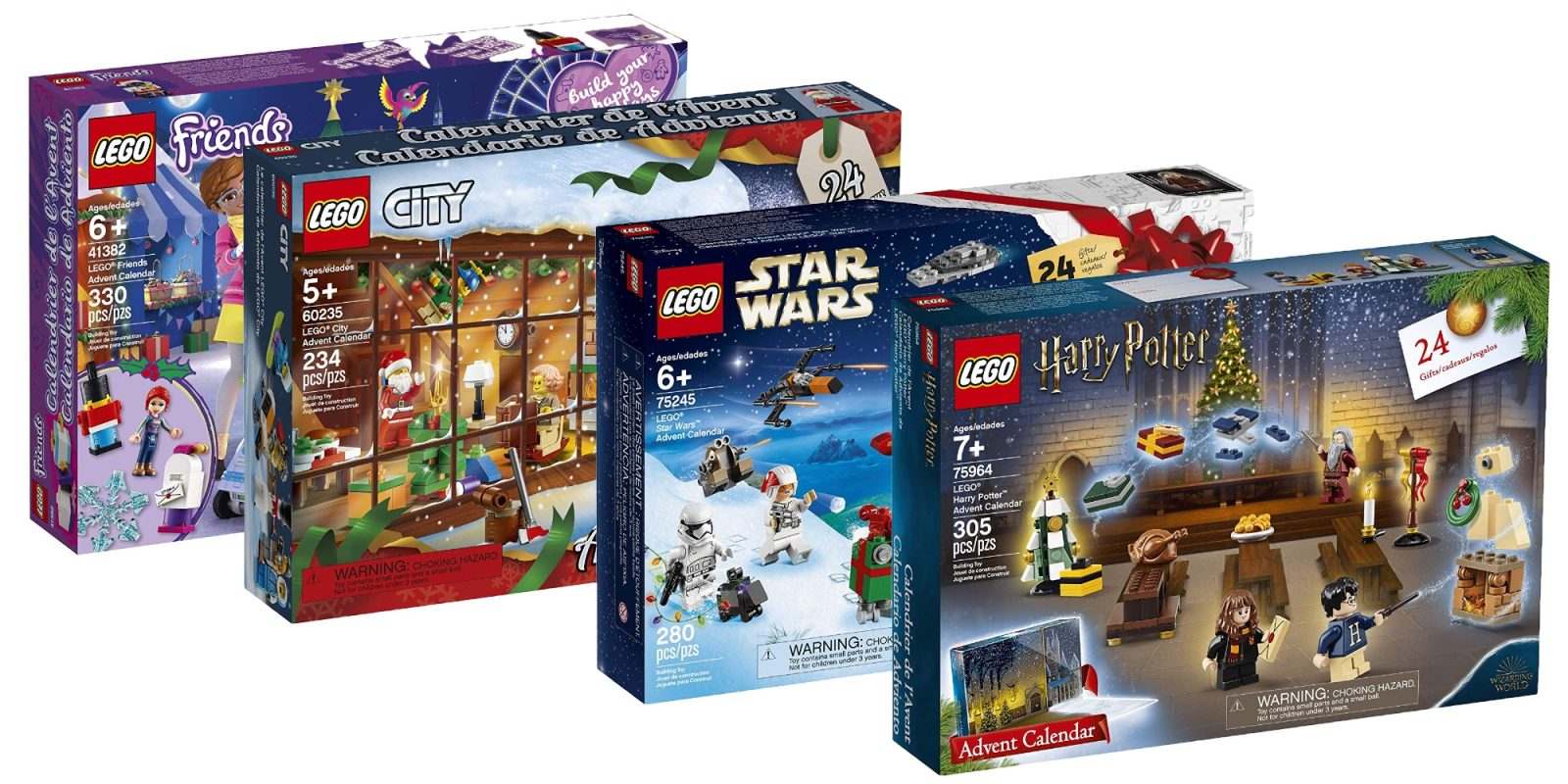 Calendrier Avent Lego Star Wars 2019.Lego 2019 Advent Calendars Include Harry Potter And More