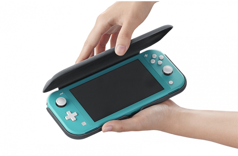 Official Nintendo Switch Lite case in gray