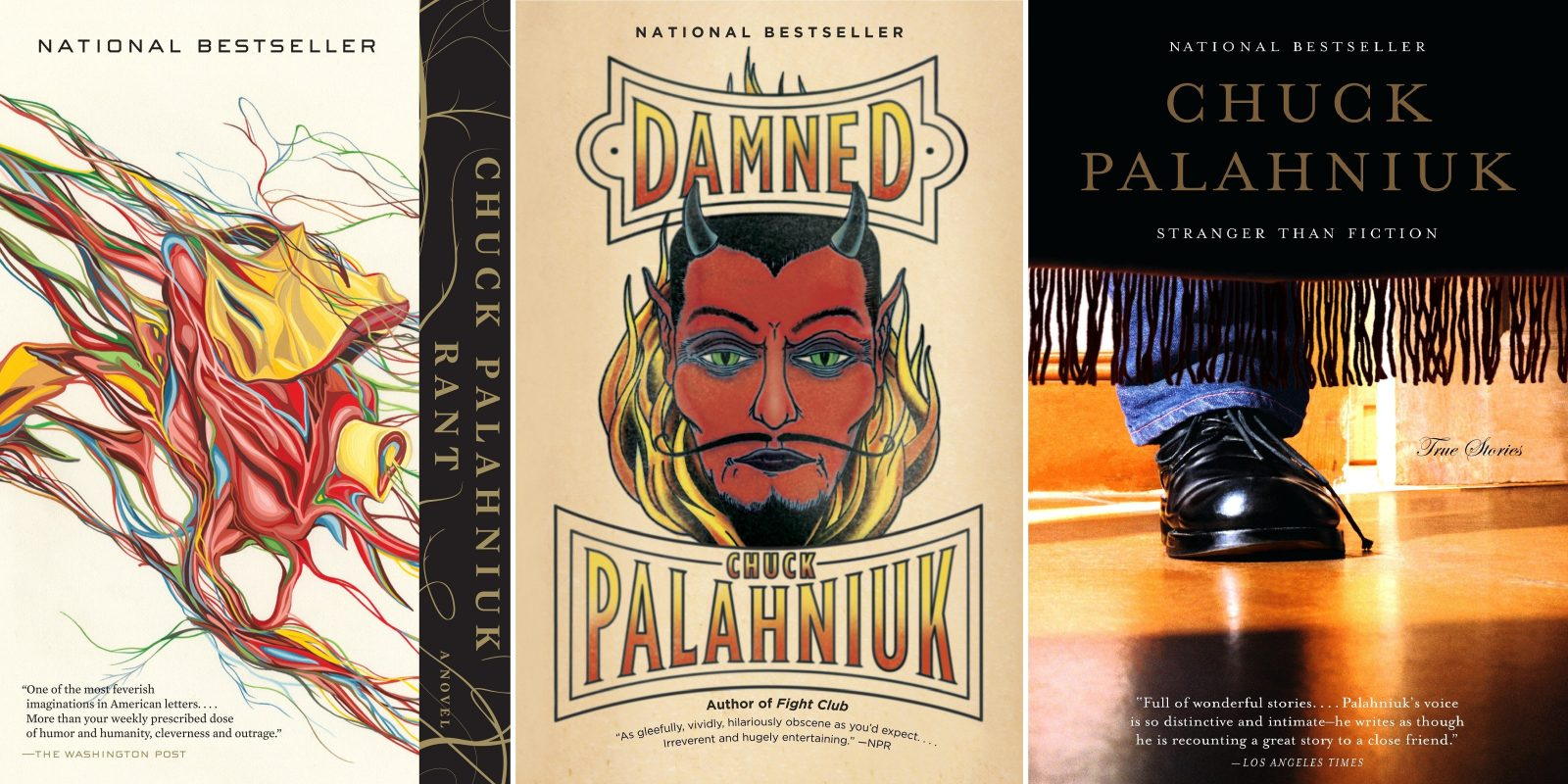 Load your Kindle with these Chuck Palahniuk books at $5 each
