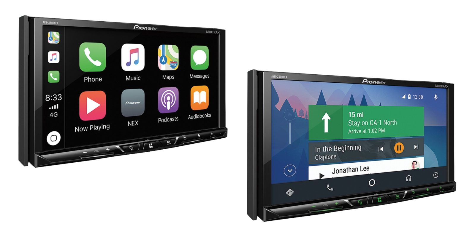 Pioneer's 7-inch CarPlay + Android Auto Receiver is yours