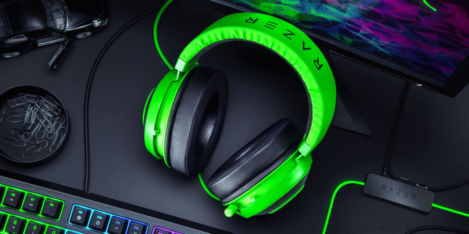 Razer's new 2019-edition Kraken Gaming Headset drops to $60 (25% off), more